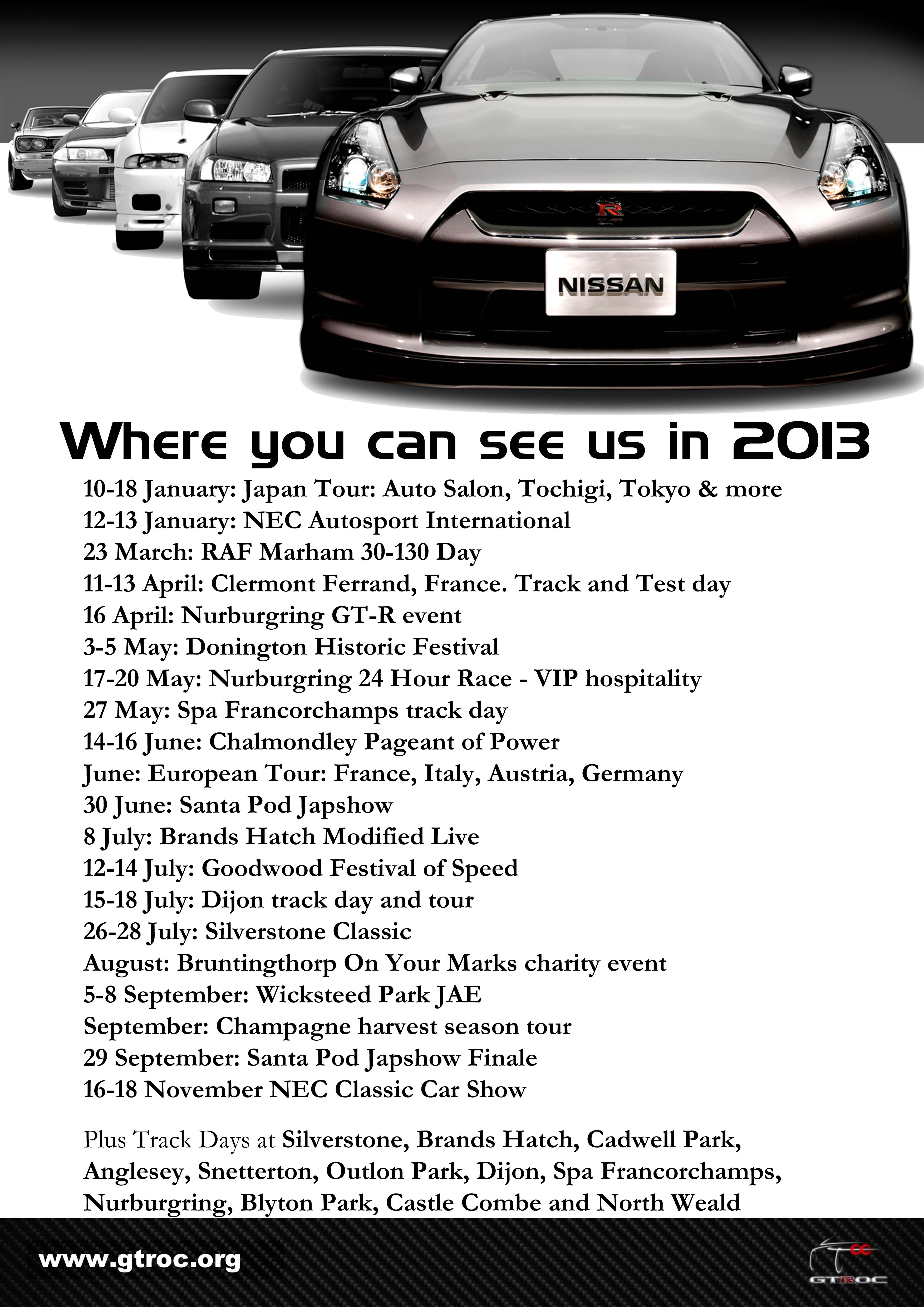 2013 events